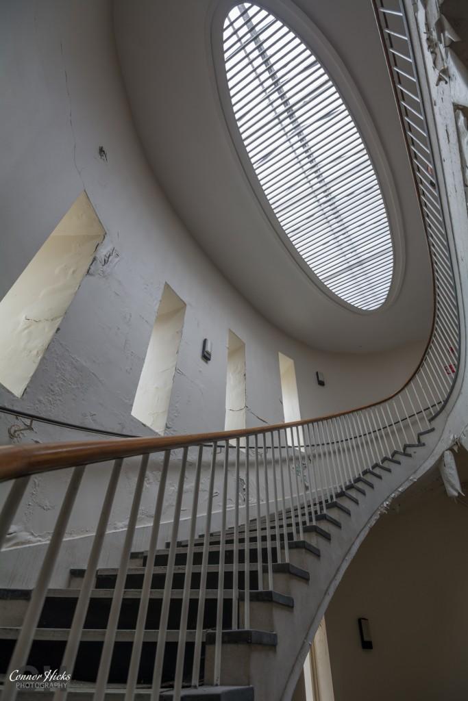 Haslar Spiral Staircase Urbex 683x1024 The Royal Hospital Haslar, Gosport