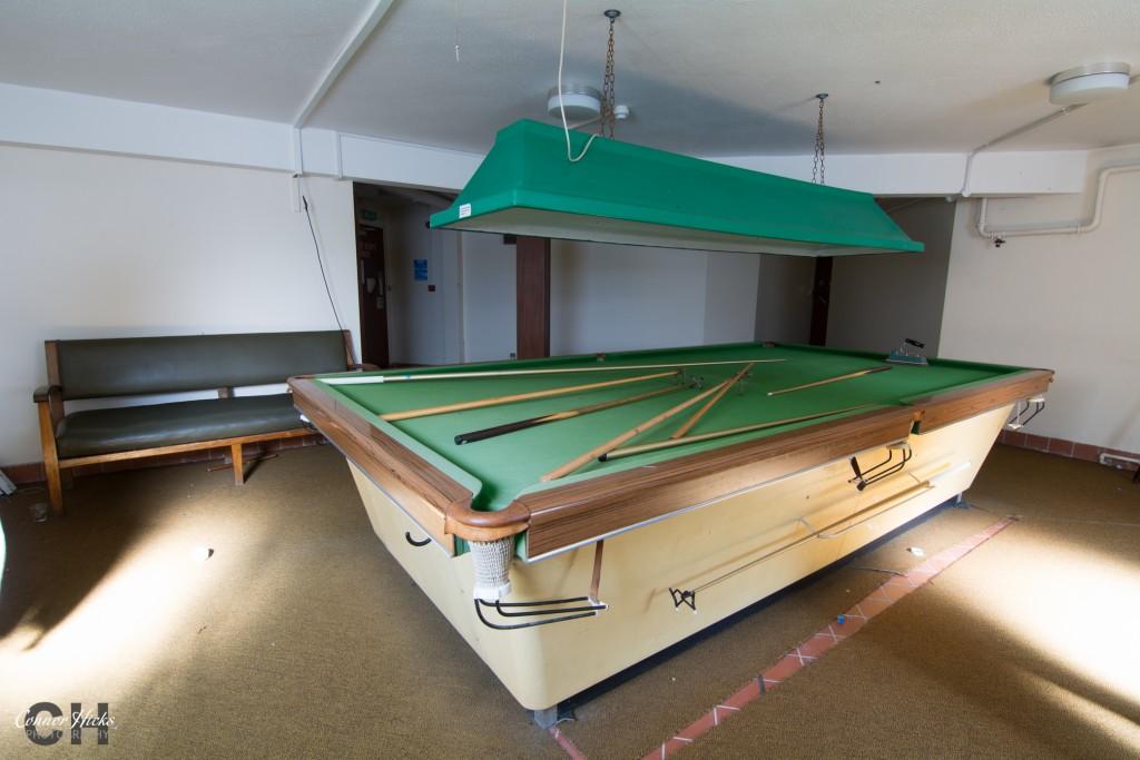 Haslar Urbex Snooker Hall 1024x683 The Royal Hospital Haslar, Gosport