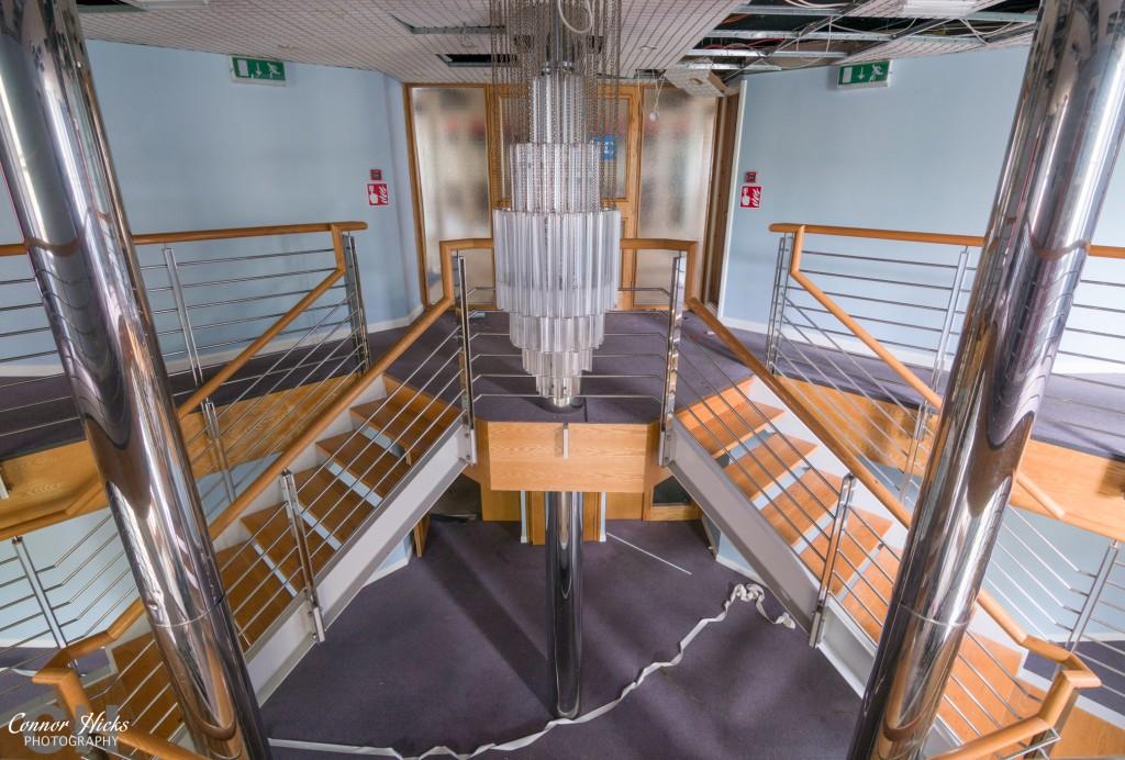 Haslar Urbex Staircase Senior Rates 1024x692 The Royal Hospital Haslar, Gosport