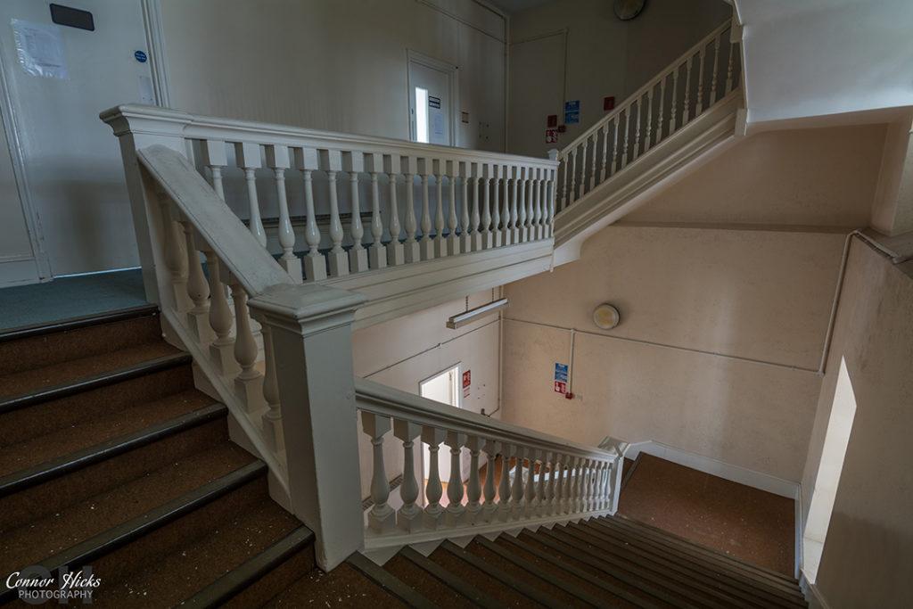 Urbex The Royal Hospital Haslar Gosport Hampshire July 2015 Revisit Staircase 1024x683 The Royal Hospital Haslar, Gosport