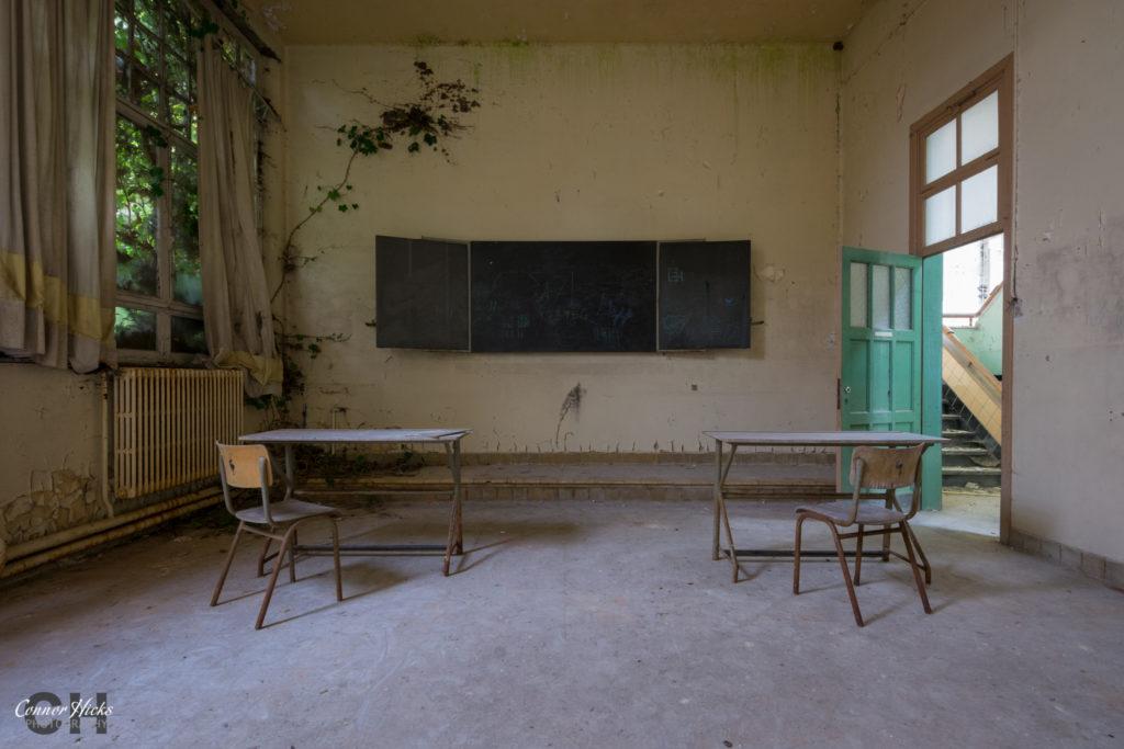 The Green School Urbex Belgium 1024x683 The Green School, Belgium
