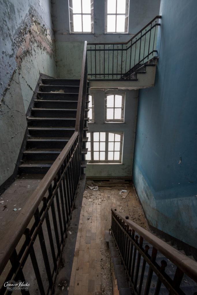 The Green School Urbex Stairs 683x1024 The Green School, Belgium