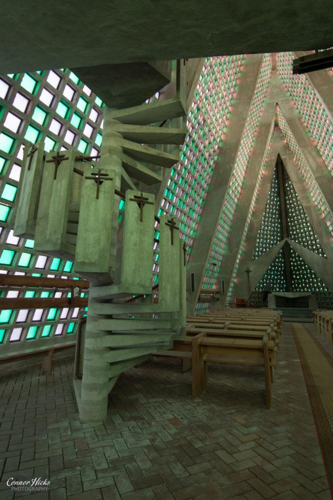 stairs et church urbex france internal 683x1024 E.T Church, France (Permission Visit)