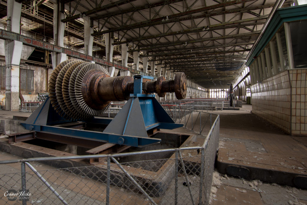 kraftwerk v turbine hall urbex 1024x683 Kraftwerk V, Germany