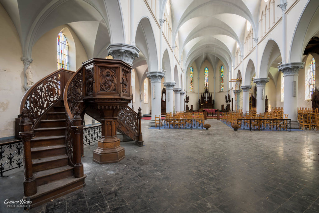 belgium church urbex 1024x683 Anti Christ Church, Belgium