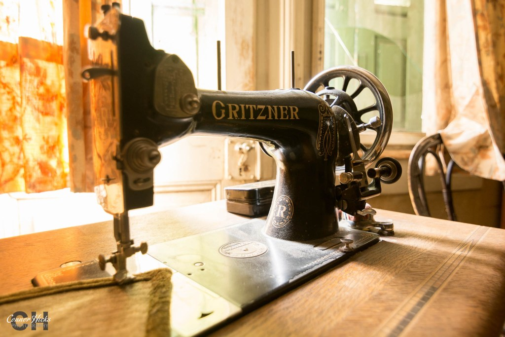 hunters hotel sewing machine 1024x683 Hunters Hotel, Germany (Permission Visit)