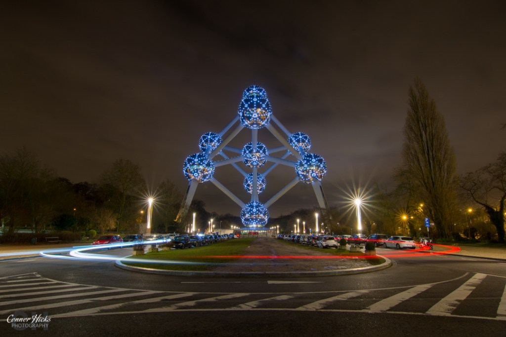 Brussels Atonium At Night 1024x683 Portfolio