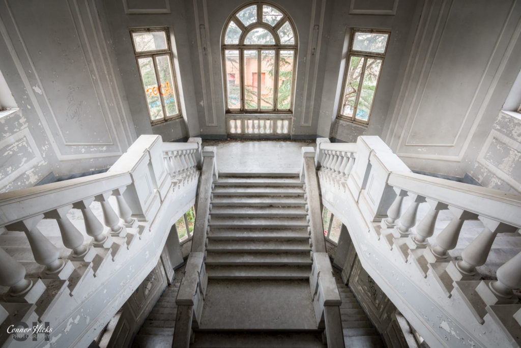 Ospedale Psichiatrico Di Q Staircase 1024x684 Ospedale Psichiatrico Di Q, Italy