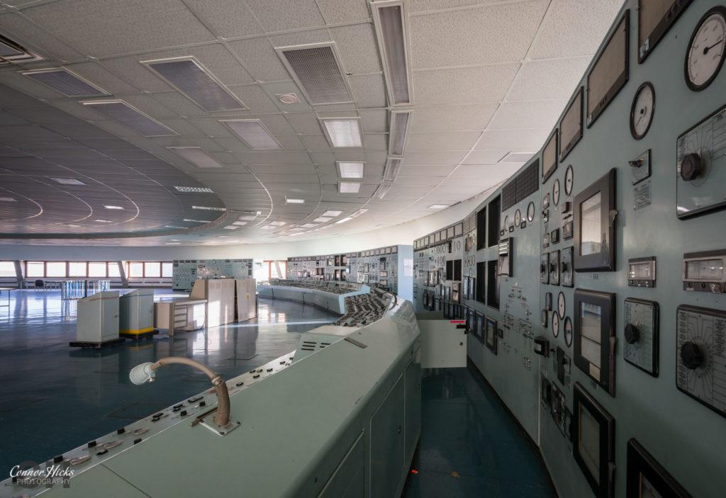 control room urbex fawley power station 1024x703 Fawley Power Station