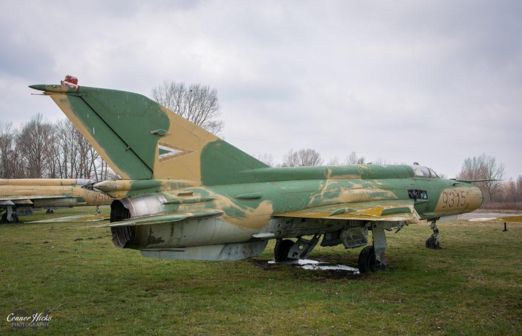 lost migs hungary 1024x659 Plane Graveyard, Hungary