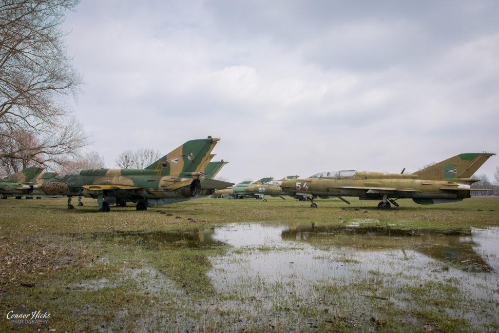mig urbex plane hungary 1024x683 Plane Graveyard, Hungary
