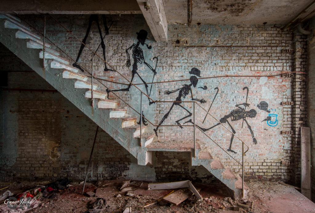skeleton factory urbex 1024x692 Skeleton Warehouse, Belgium