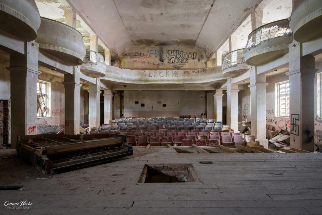 soviet theatre bulgaria urbex 1024x686 Soviet Theatre, Bulgaria