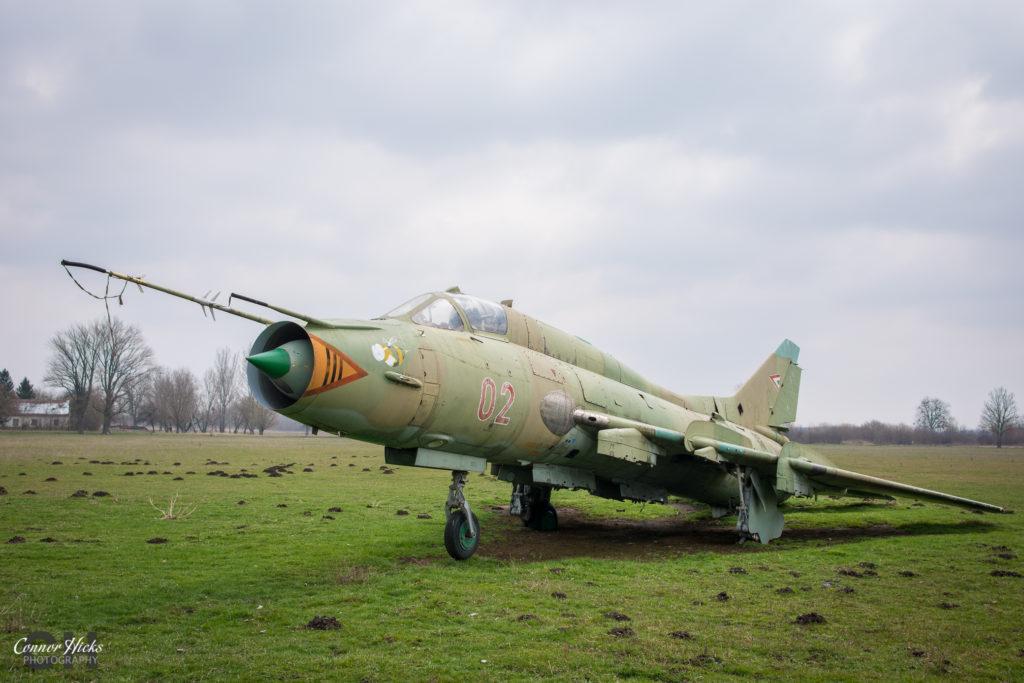 su 22 urbex hungary 1024x683 Plane Graveyard, Hungary