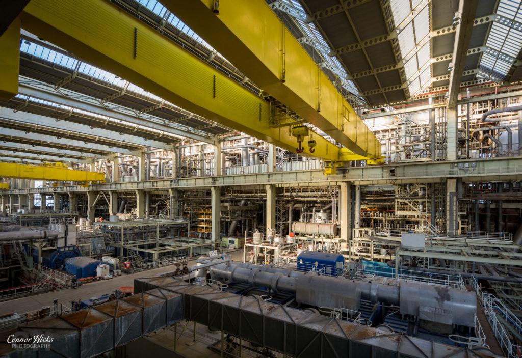 turbine hall urbex fawley power station 1024x703 Fawley Power Station
