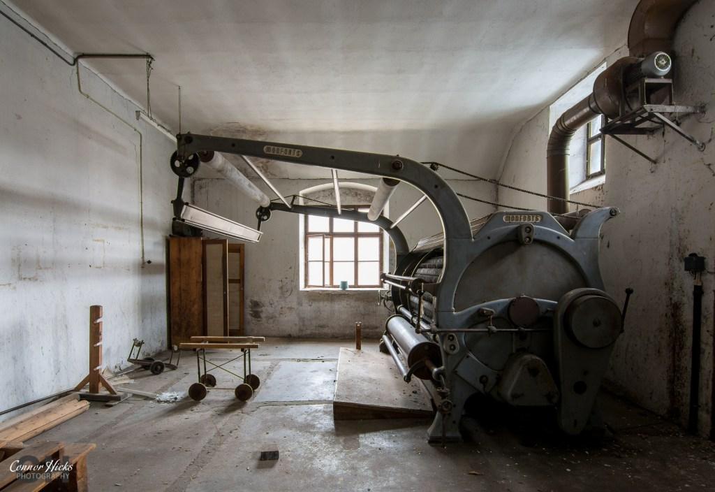 urbex austria mill 1024x704 Cotton Factory, Austria