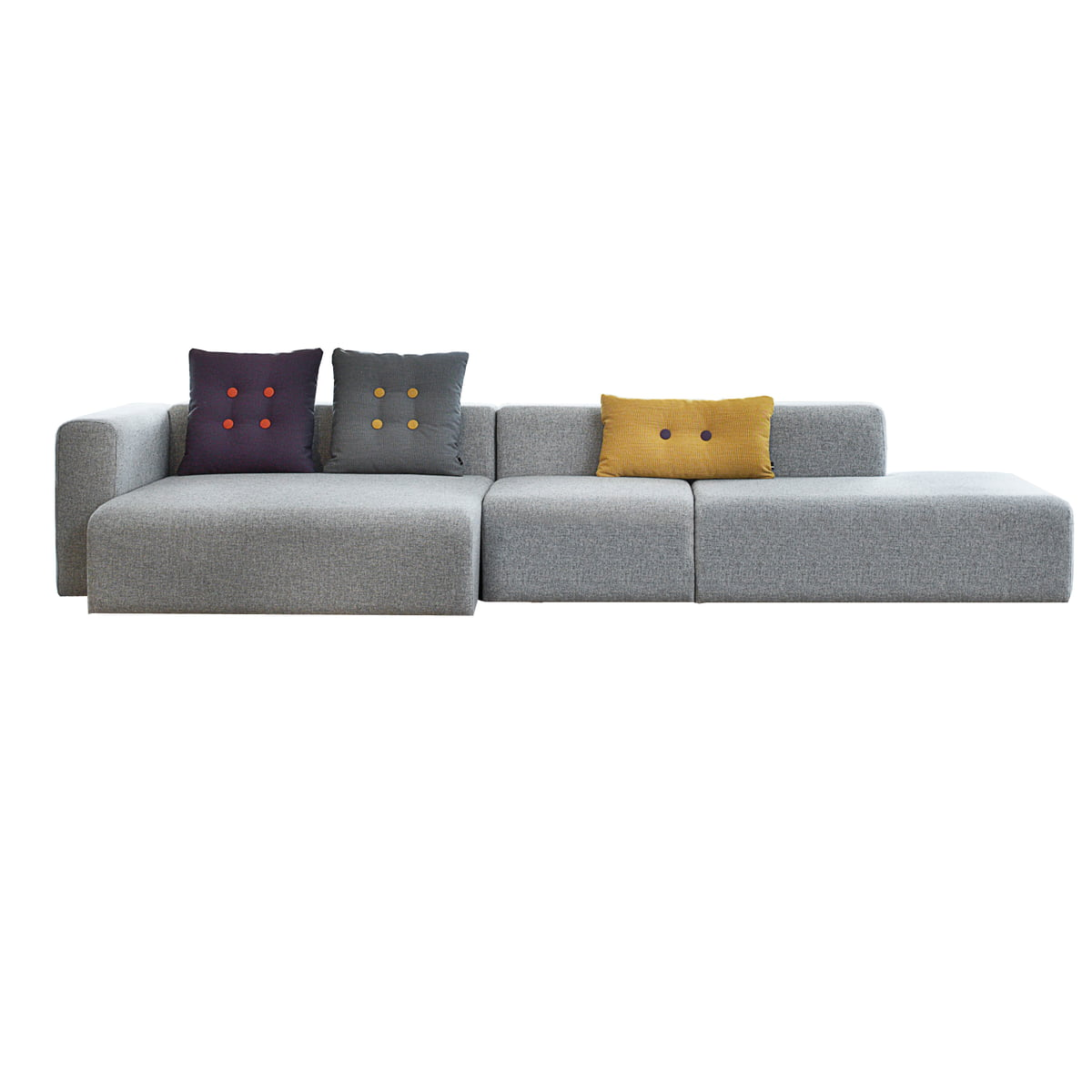 hay mags sofa fabrics cover scratches cream leather dot cushion 46 x 60 cm steelcut trio