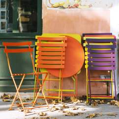 Outdoor French Bistro Chairs Eames Chair Dimensions The Round Table By Fermob In Shop