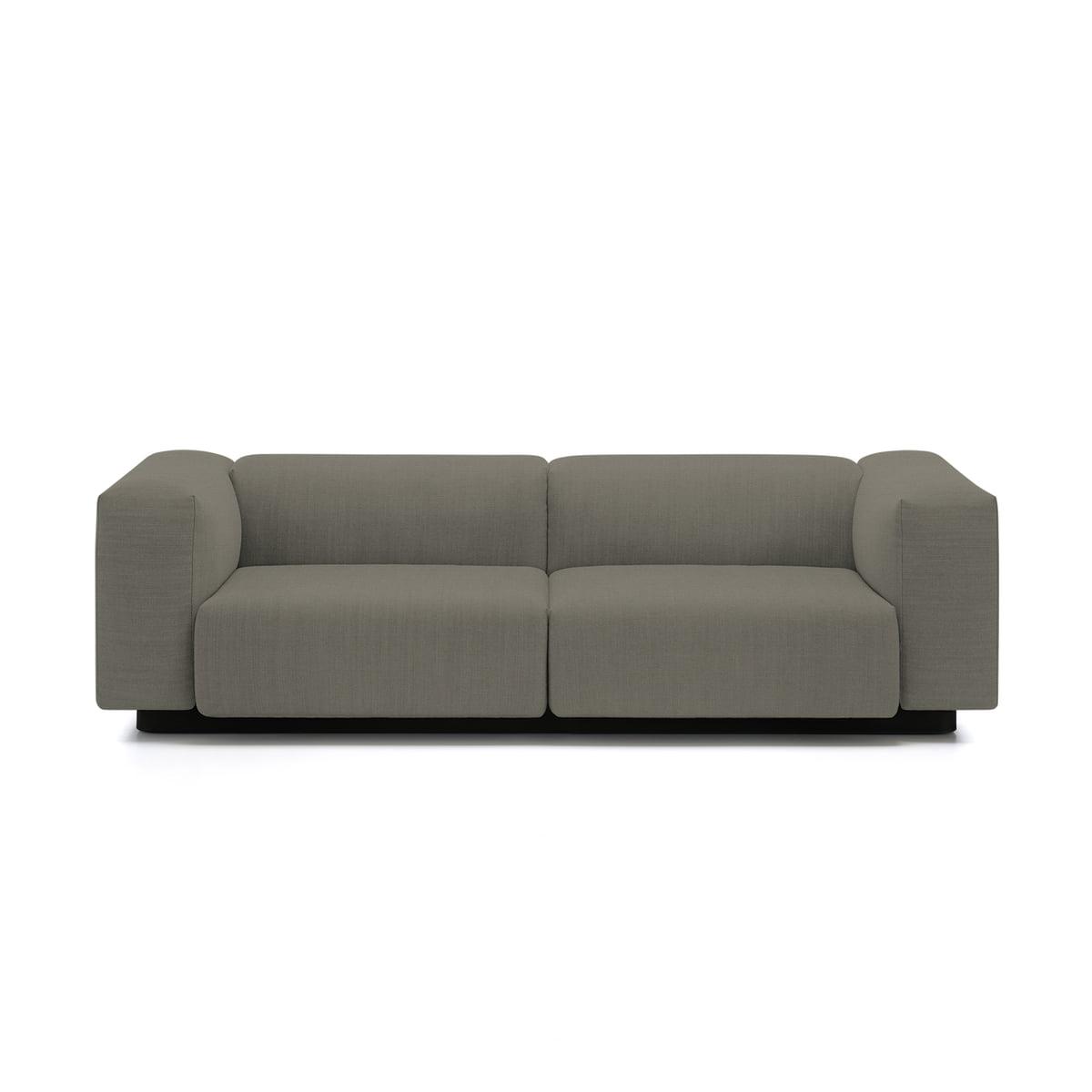 vitra sofa modular round bed soft 2 sitzer von connox