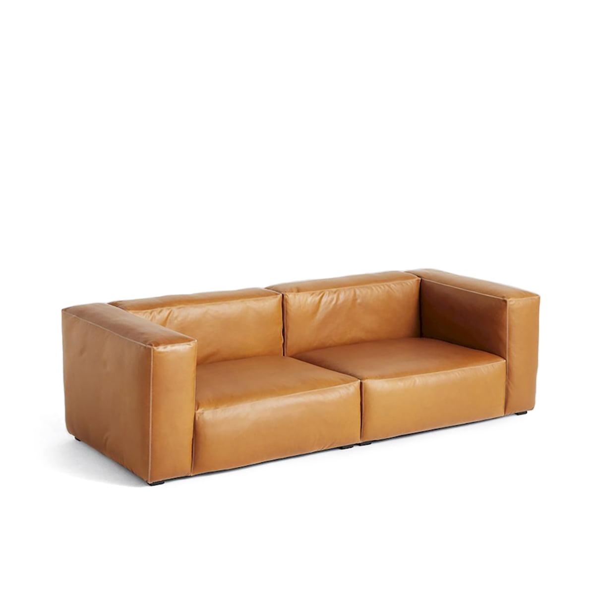 hay sofa mags leder big lots sleeper cognac 2 and 3 sitzer sofas online kaufen möbel