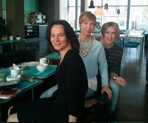 Hamburg: QVC: Thomas Rath: Event: Annette, Cla and I