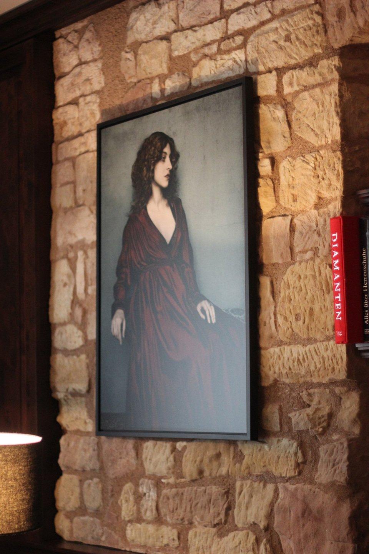 """Die Wanddeko in """"Konrads Salon"""""""