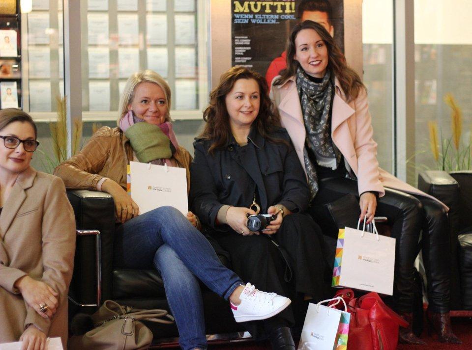 ...die andere Hälfte... Andrea, Valérie und Vanessa