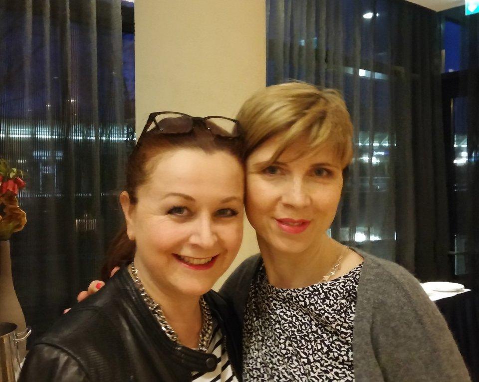 Radisson Blu - Valerie und ich