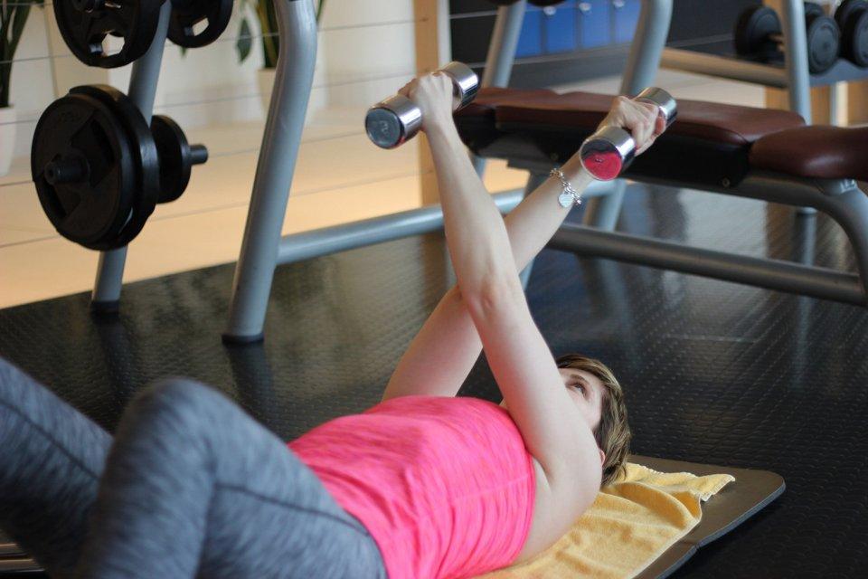 Tipps für ein Training zu Hause mit YouTube, Brustmuskulatur
