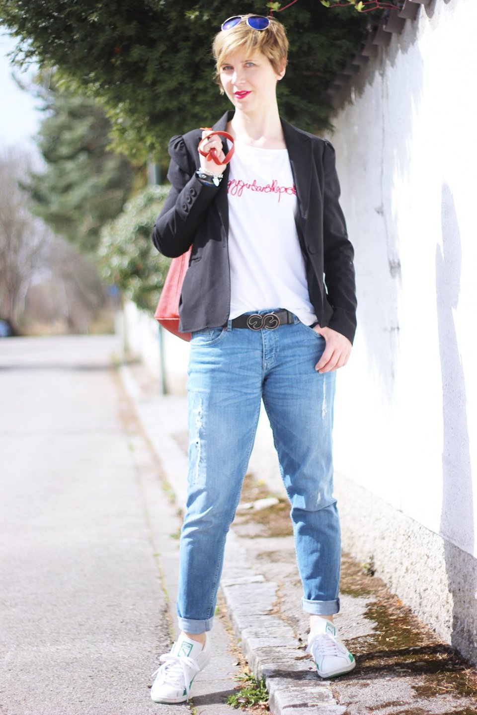Boyfriend, Blazer, Shirt, redirected, lässiger Boyfriendlook,