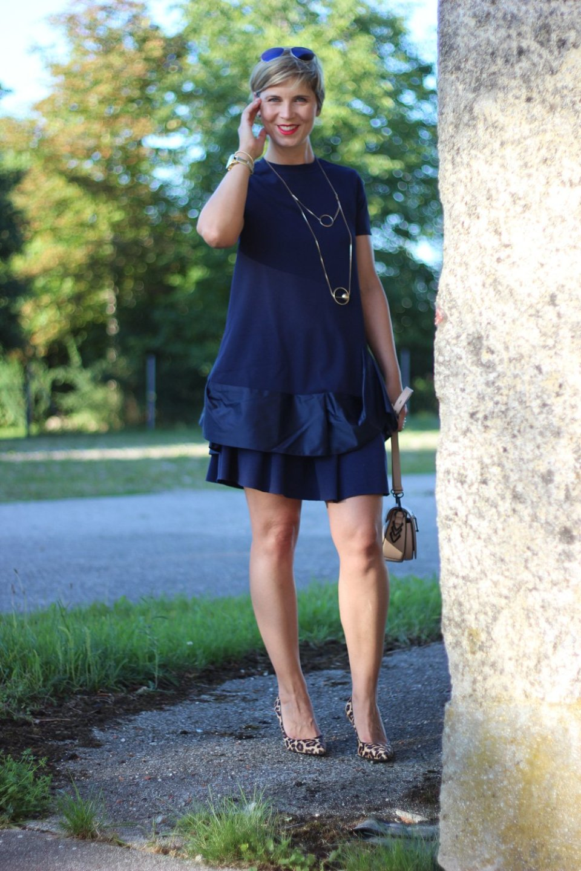 Shirtdress, Petite-Fashion, Asos, Dunkelblau, Darkblue, Rock, Conny Doll, 40plus, Fashionblogger