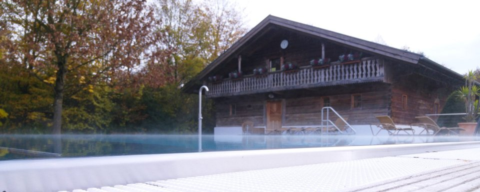 Außenpool, Saunastadl, Hotelbar, Restaurant, Hirsch, Hotel 3Quellen-Therme, Bad Griesbach, Wellness, Beauty, Conny Doll Lifestyle