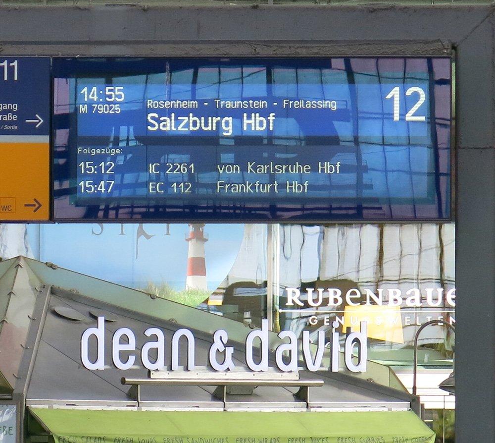 Salzburg, Sightseeing, Ausflug, Wochenende, Conny Doll, Sehenswürdigkeiten, Garten, Hotel Auersperg, Anzeige, Bahnhof, München