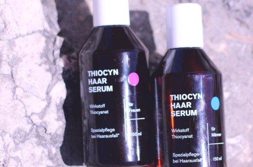 Haarserum Thiocyn, Mann und Frau, Conny Doll, Produkttest