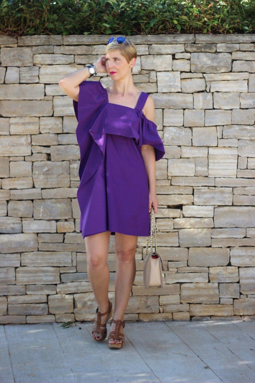 lila Sommerkleid, Schumacher, summerdress, Conny Doll in Istrien