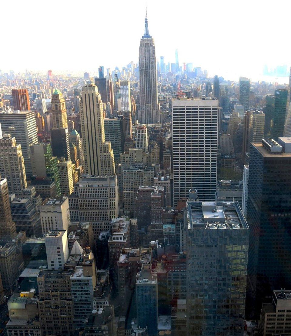 HVB Exklusivkonto, New York, Blick aufs Empire State Building, Rockefeller Center