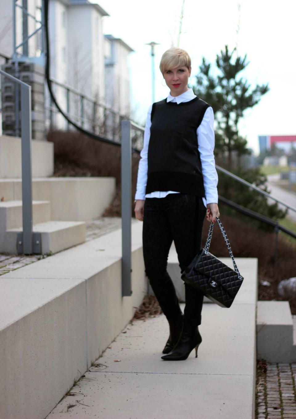 conny doll lifestyle: schwarz-weiss, dandy-style, Beitrag über Entspannung mit ASMR, Geräusche, Blogger, Blog aus München