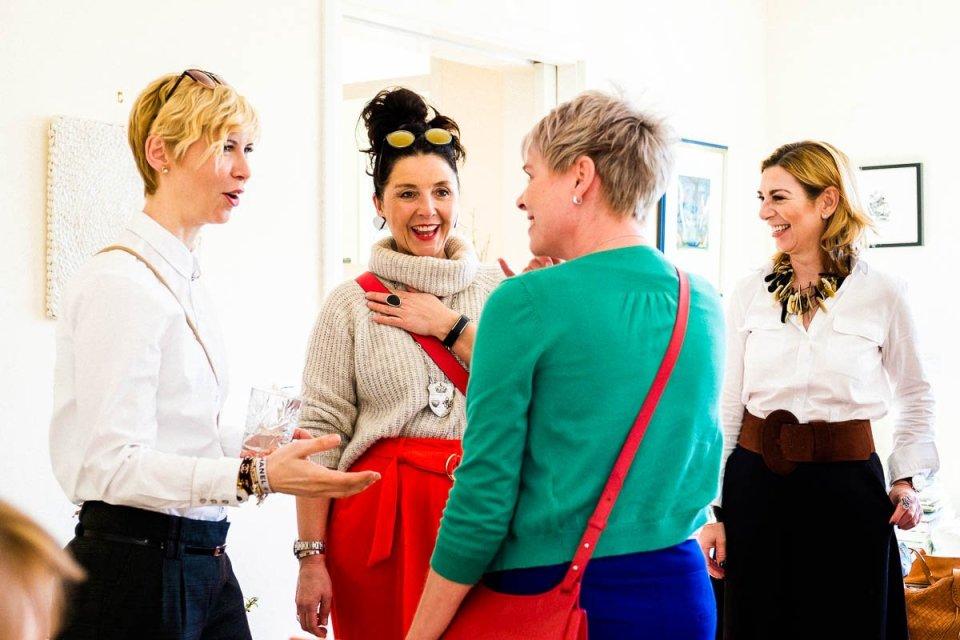 conny doll lifestyle: Ein Bloggeburtstags-Netzwerk-Fest - Danke Texterella, Frauenrunde, Netzwerktreffen,
