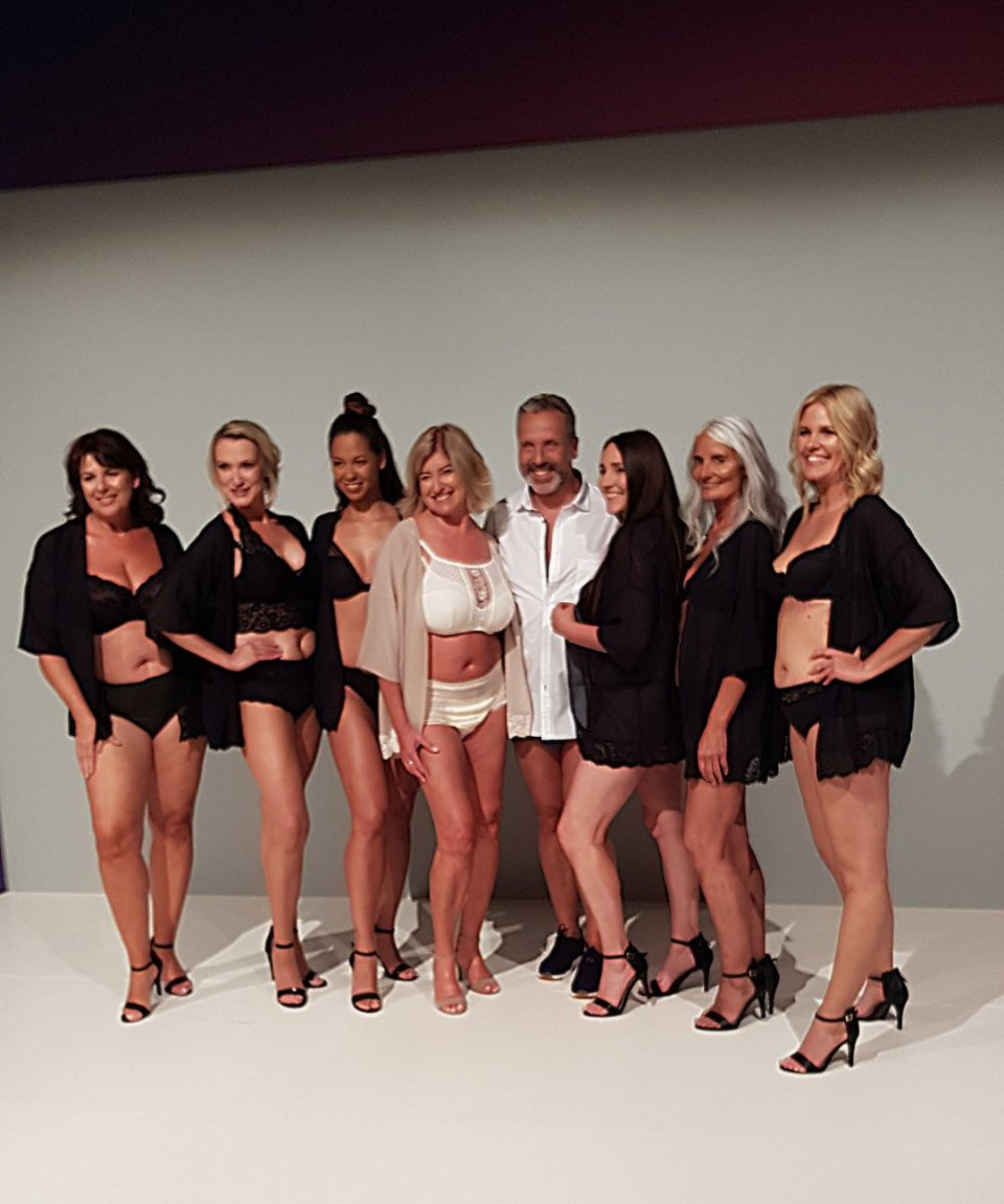 conny doll lifestyle: Models Tena Fashionshow, Fashionweek Berlin, Frauen für Frauen