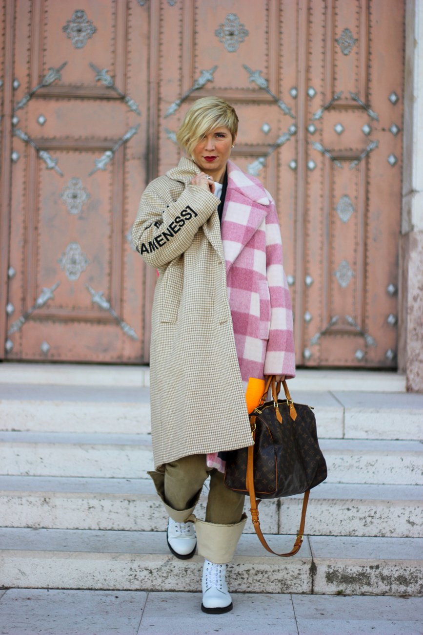 conny doll lifestyle: Herbstlook, MUF10, Mantel, Streetstyle, Boots, H&M Studio Collection, Fashionblog, Outfitinspiration,