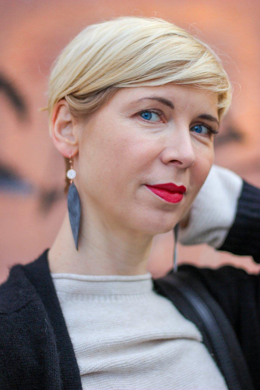 conny doll lifestyle: Anke Decker, Ohrringe, lange, Schmuck, Verlosung