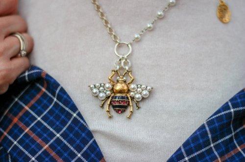 conny doll lifestyle: Runte Schmuck, Dagmar Runte, Halskette Bee, Biene, Verlosung, Modeschmuck, Halsschmuck