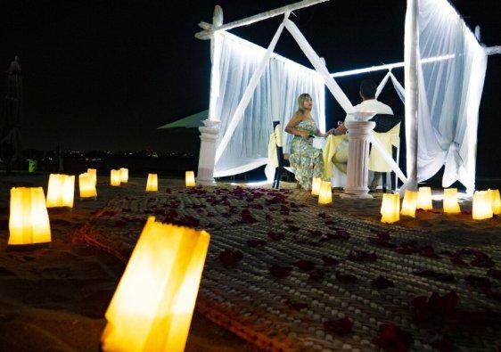 cenas romanticas en Manzanillo