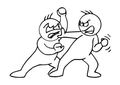 Amistad pelea