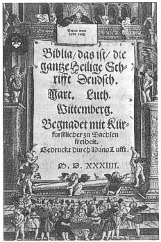 Biblia de Lutero en Alemán