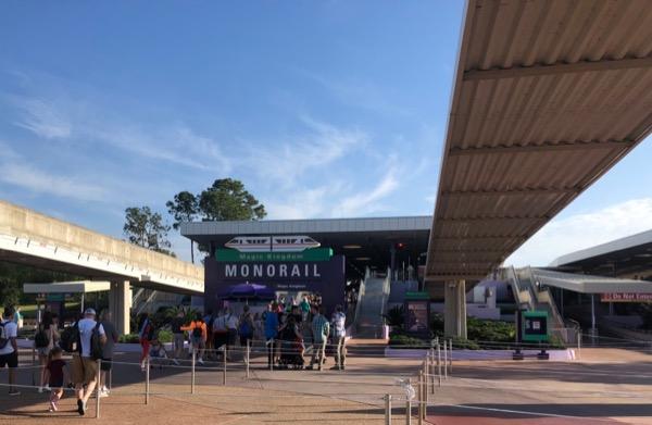モノレール乗り場