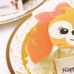 クッキーのバースデーケーキ