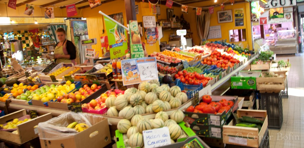 Fresh fruit at Les Halles
