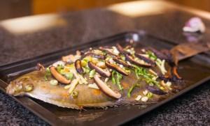 Oriental Baked Plaice