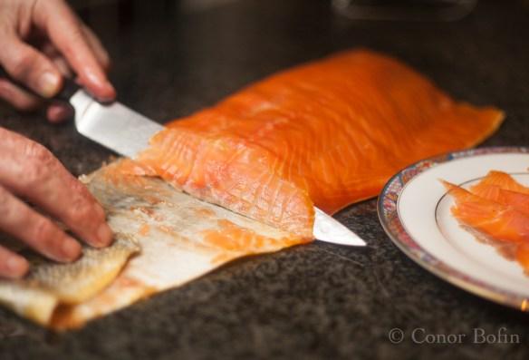 Smoked salmon carbonara (1 of 13)